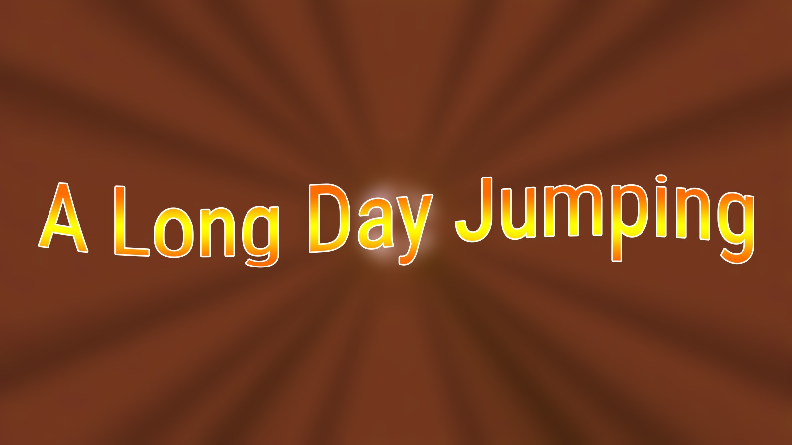 A Long Day Jumping Map Thumbnail