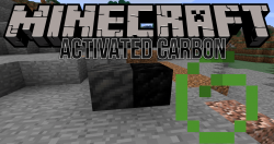 Activated Carbon mod for minecraft logo