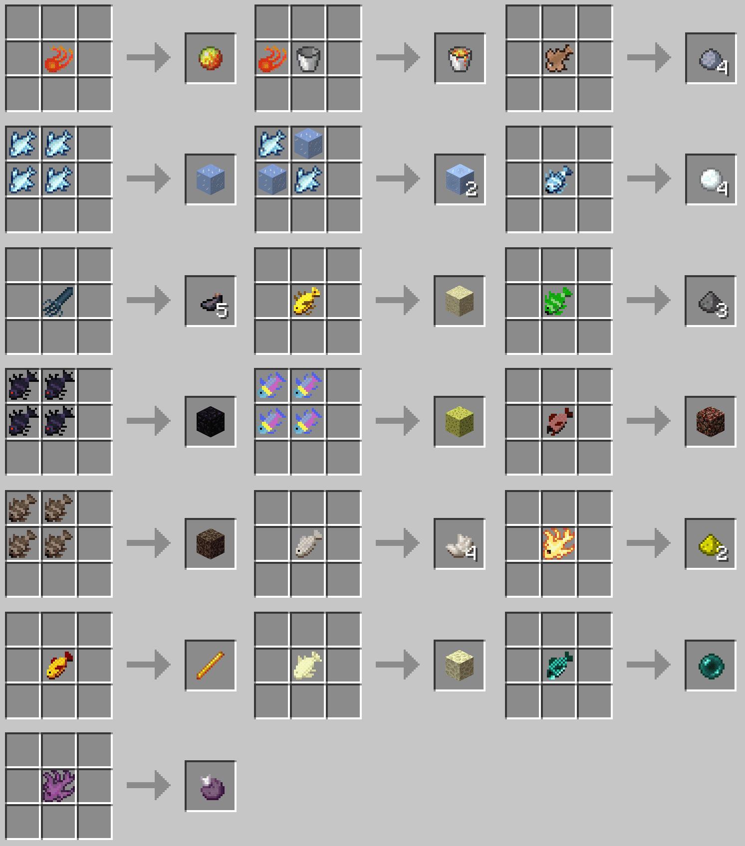 Advanced Fishing Mod Crafting Recipes 2