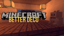 Better Deco mod for minecraft logo