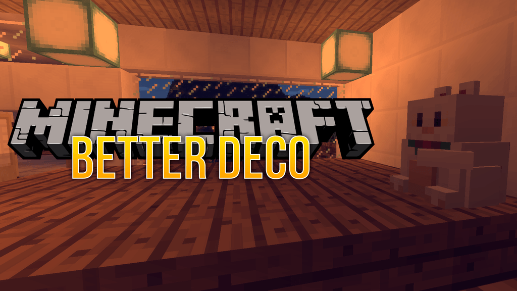 Better Deco mod for minecraft logo