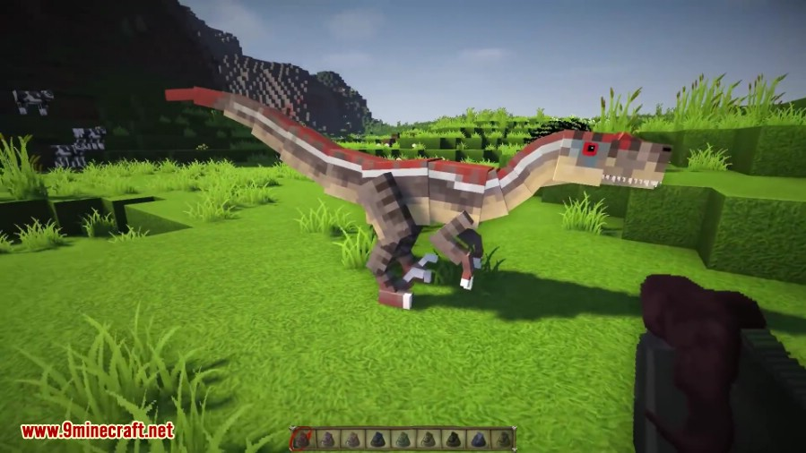 download mod jurassic park minecraft 1.7.2