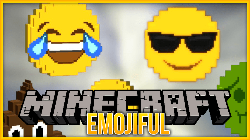 Emojiful mod for minecraft logo