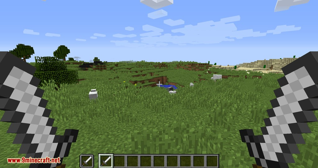Empty Hand mod for minecraft 04