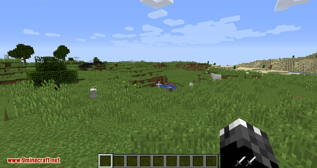 Empty Hand mod for minecraft 05