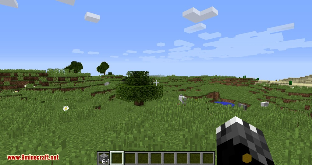 Empty Hand mod for minecraft 06