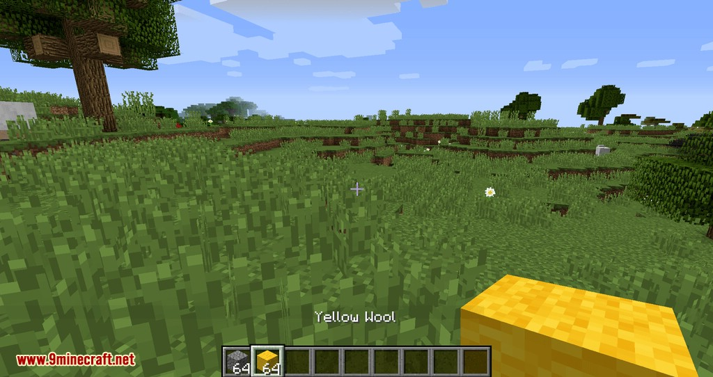 Empty Hand mod for minecraft 07