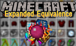 Expanded Equivalence mod for minecraft logo