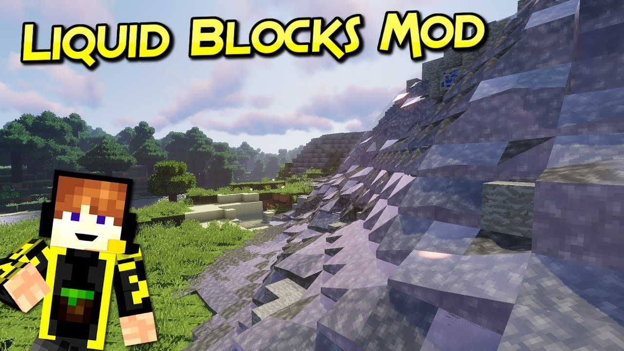 Liquid Blocks Mod
