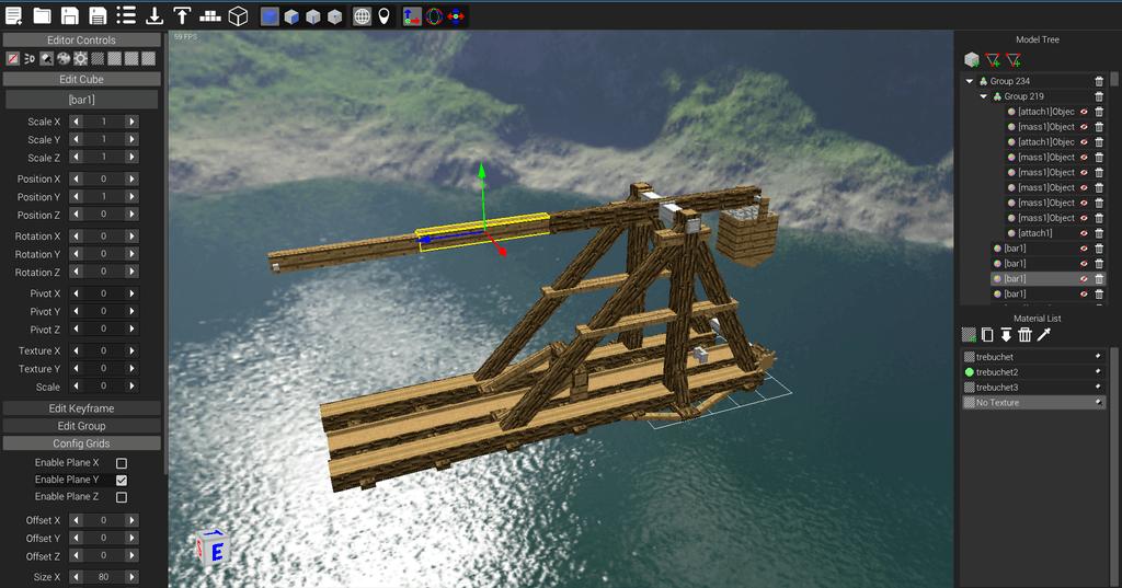 ModelLoader mod for minecraft 04