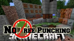 No Tree Punching Mod
