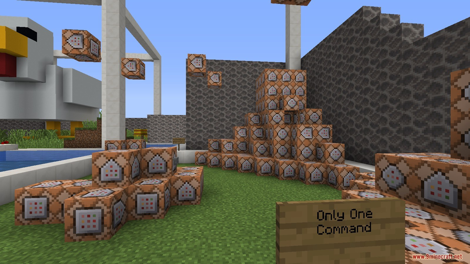 One Chunk Find The Button: Logdotzip Map 1 13 2 for