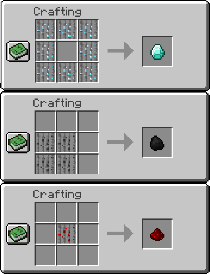 Ore Reeds Mod Crafting Recipes 3