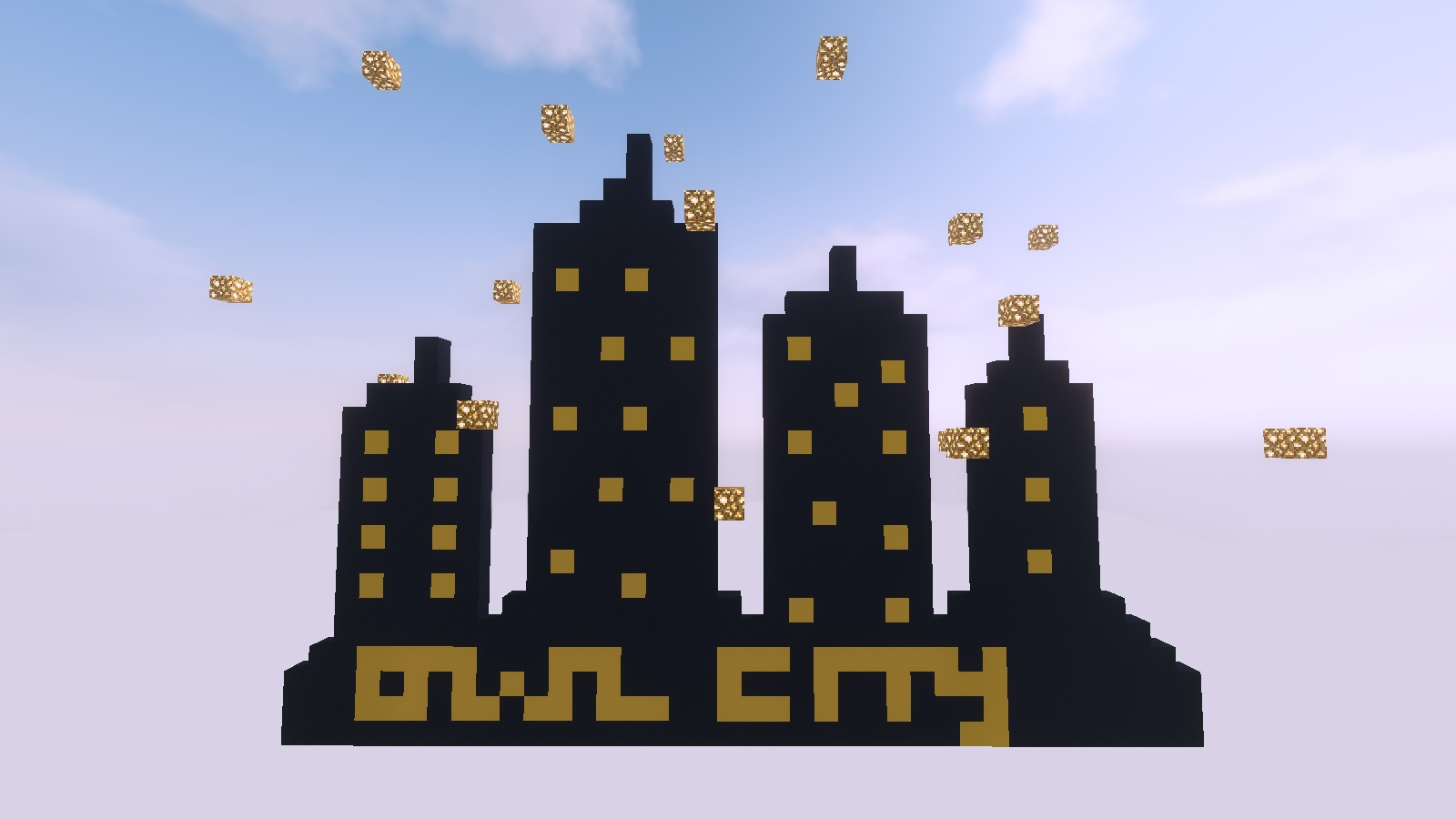 minecraft city parkour
