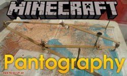 Pantography mod for minecraft logo