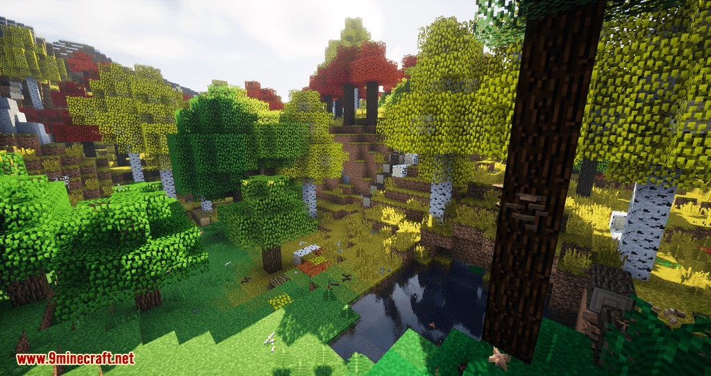 Project Vibrant Journeys mod for minecraft 01