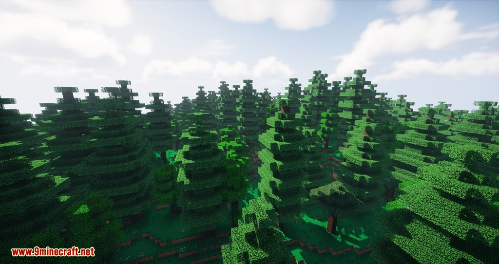 Project Vibrant Journeys mod for minecraft 02