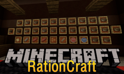 Rationcraft mod for minecraft logo