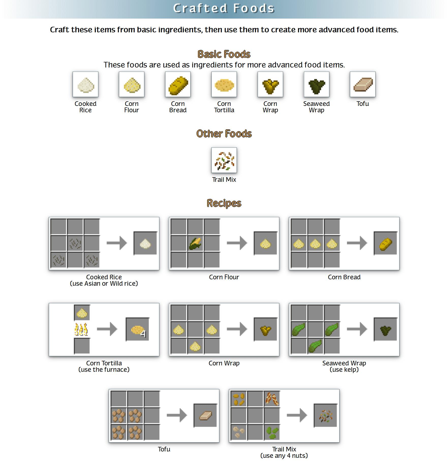 RealWorld Mod Crafting Recipes 105