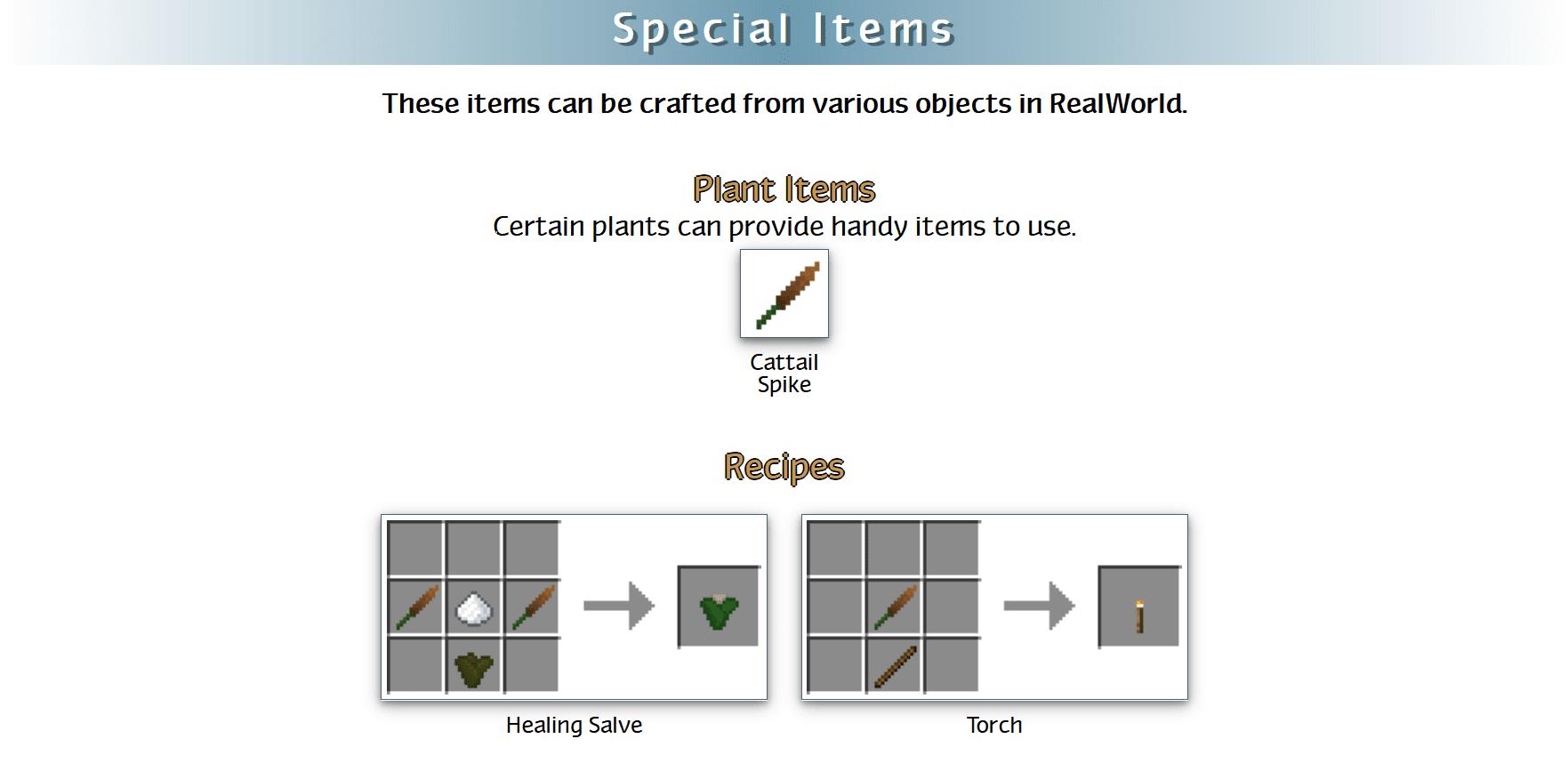 RealWorld Mod Crafting Recipes 111
