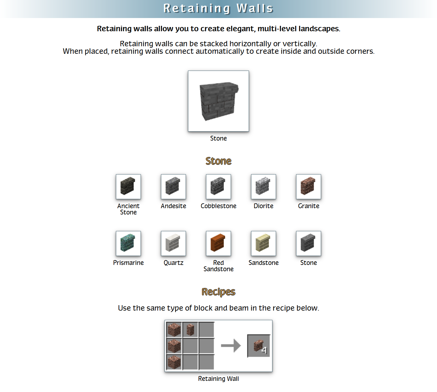 RealWorld Mod Crafting Recipes 16