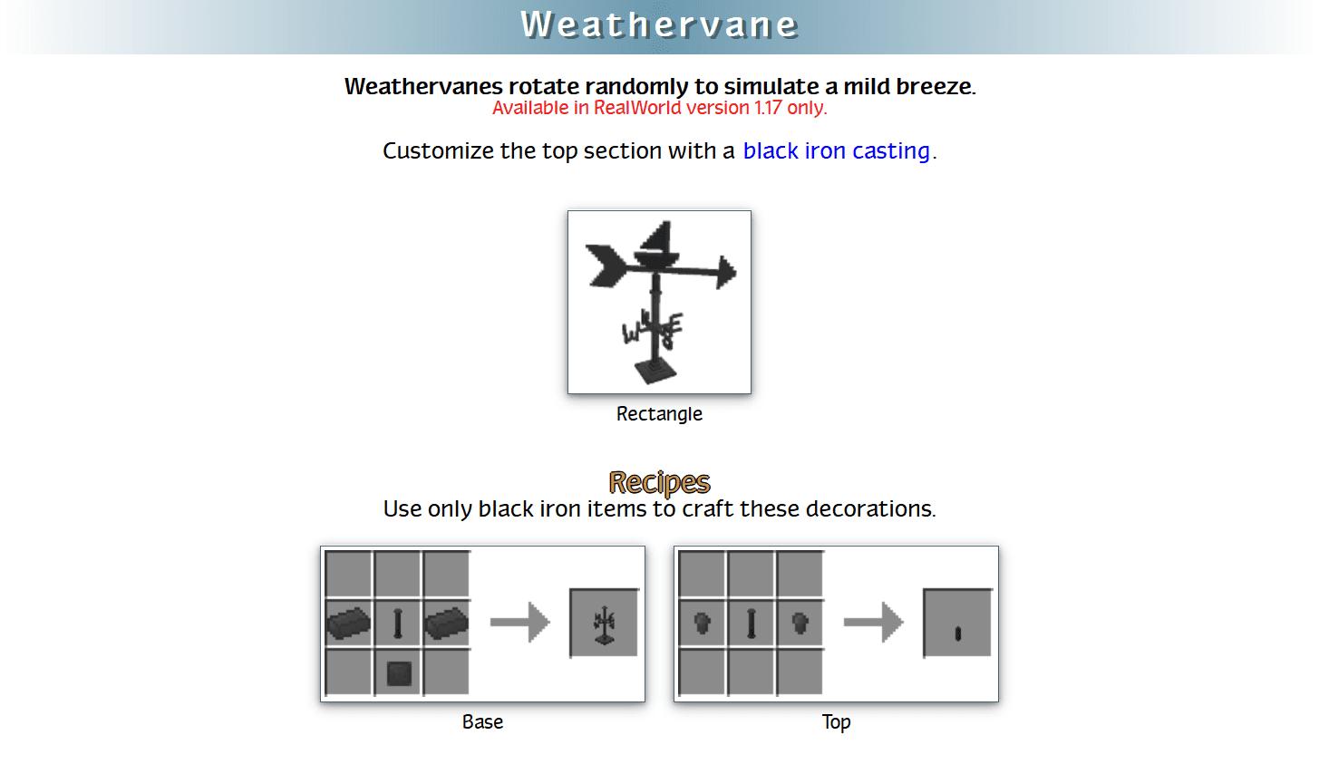 RealWorld Mod Crafting Recipes 60
