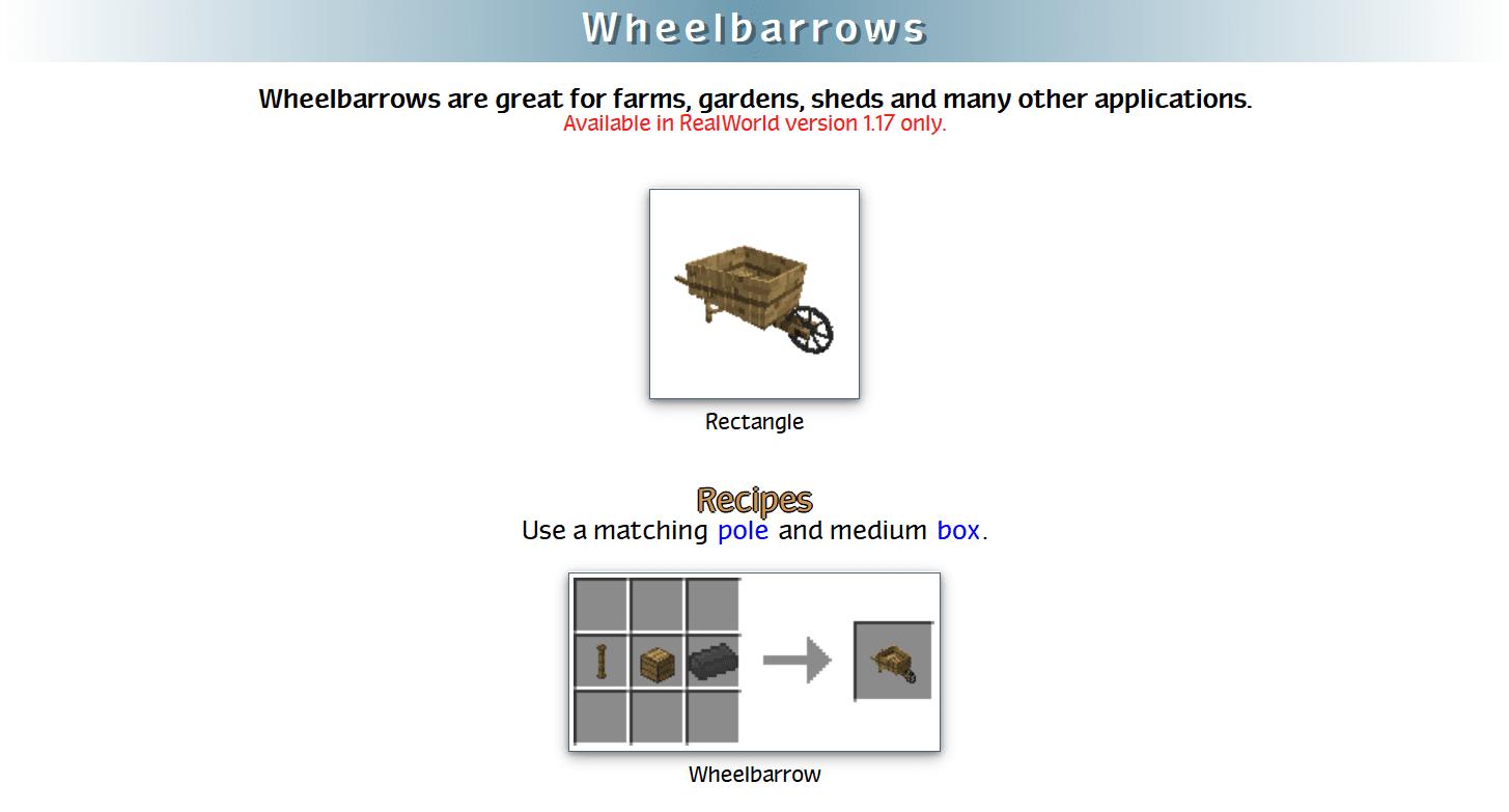 RealWorld Mod Crafting Recipes 61