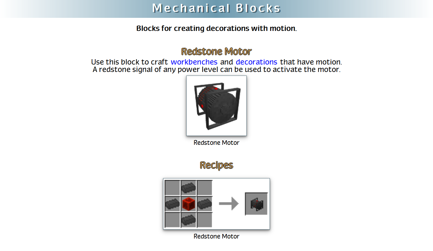 RealWorld Mod Crafting Recipes 8