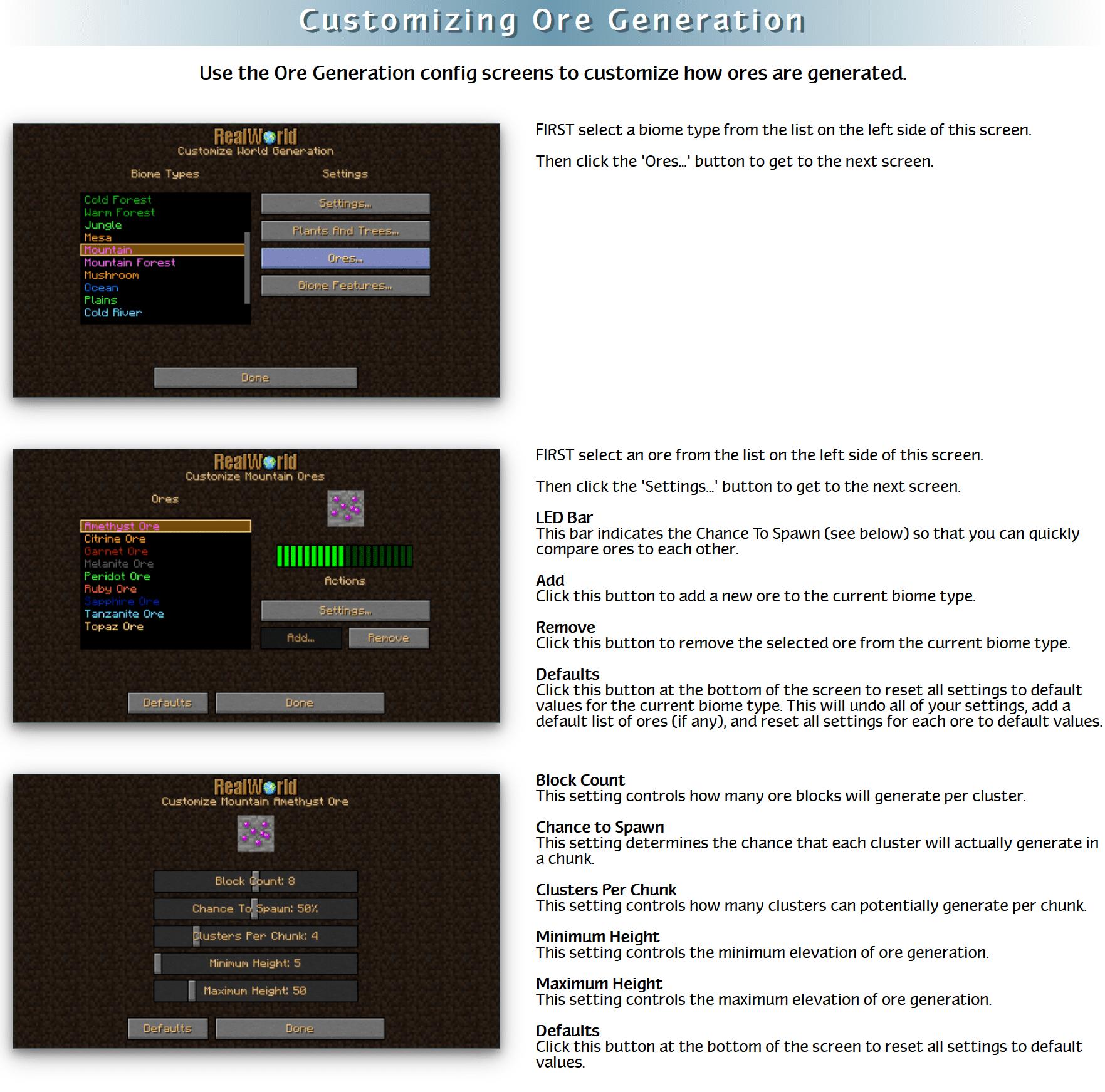 RealWorld Mod Crafting Recipes 97