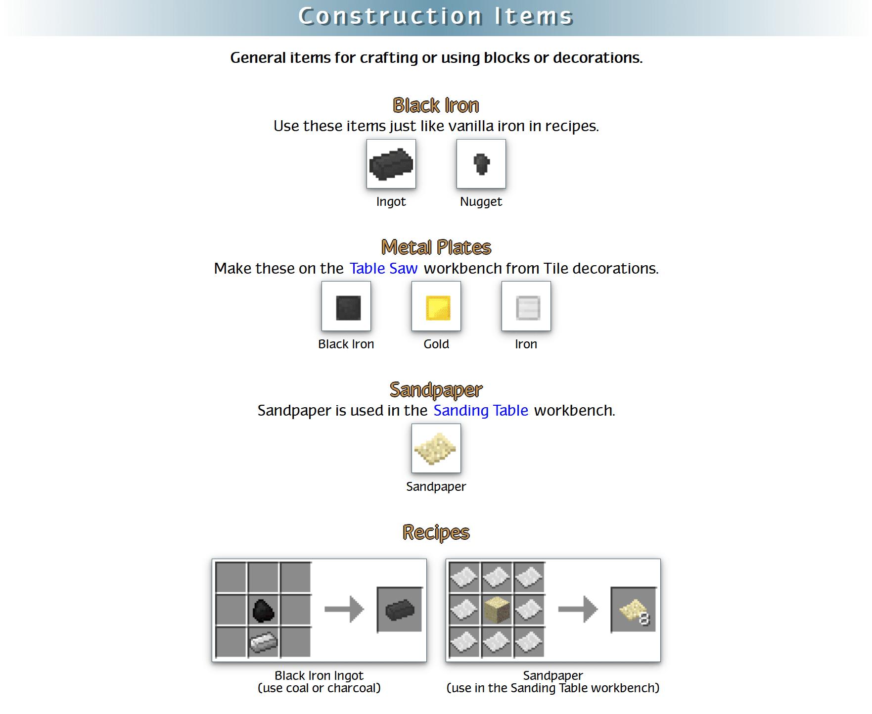 RealWorld Mod Crafting Recipes 98