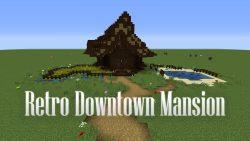 Retro Downtown Mansion Map Thumbnail