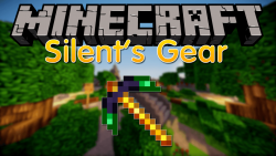 Silents Gear mod for minecraft logo
