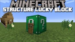 Structure Lucky Block Mod