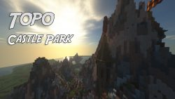 Topo Castle Park Map Thumbnail