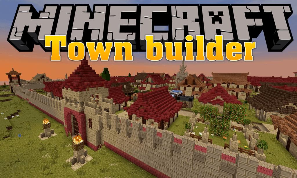 Minecraft Town Builder Mod