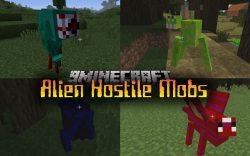 Alien Hostile Mobs Mod