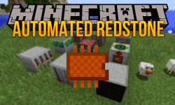 Automated Redstone mod for minecraft logo