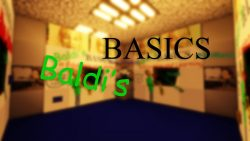 Baldi's Basics in Find the Button Map Thumbnail