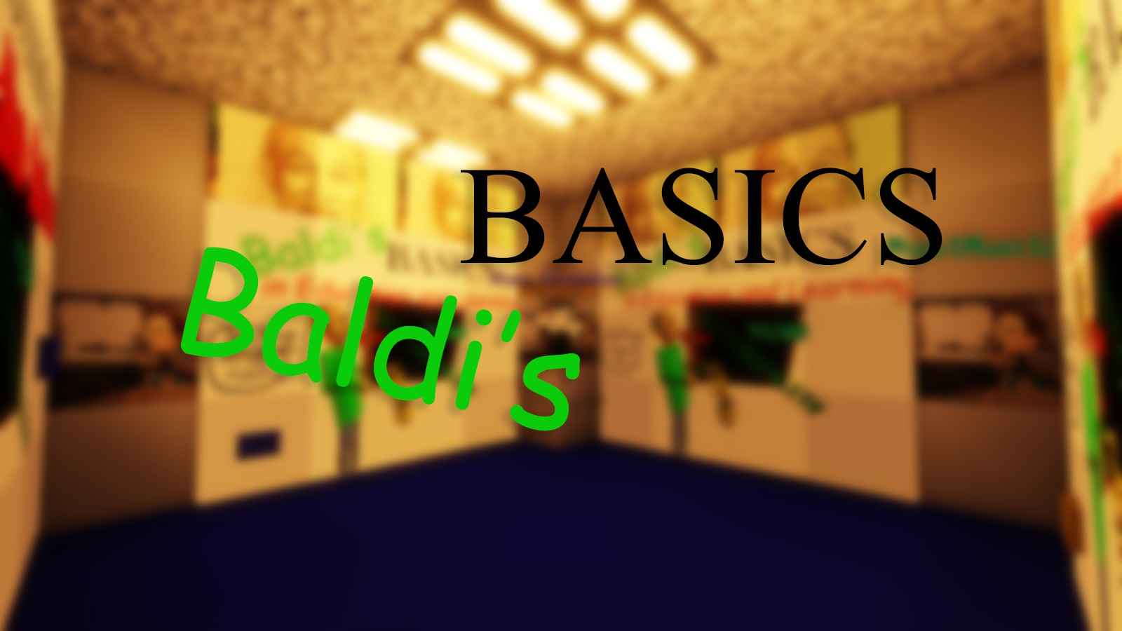 Baldi's Basics in Find the Button Map 1 13 2 for Minecraft