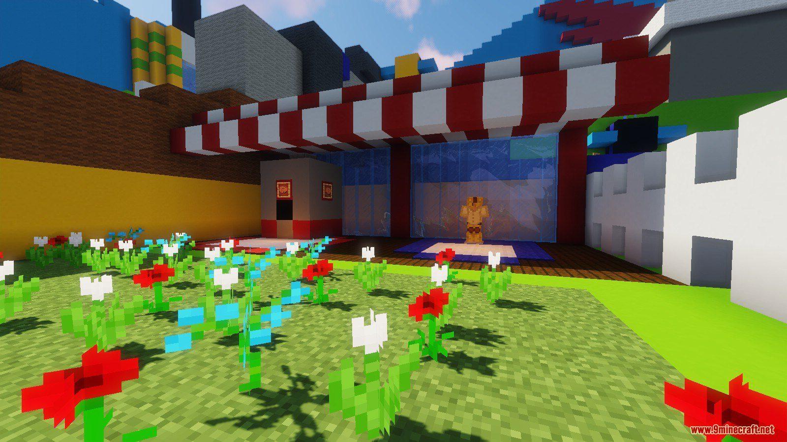 Bee Swarm Simulator Map 1 13 2 for Minecraft - 9Minecraft Net