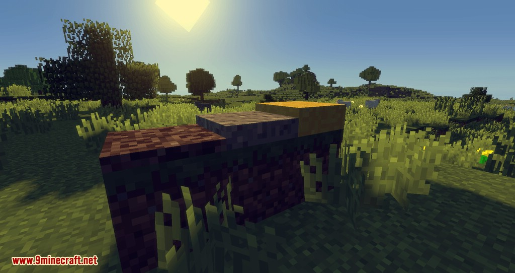 Block Layering mod for minecraft 01