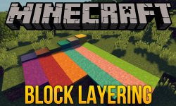 Block Layering mod for minecraft logo