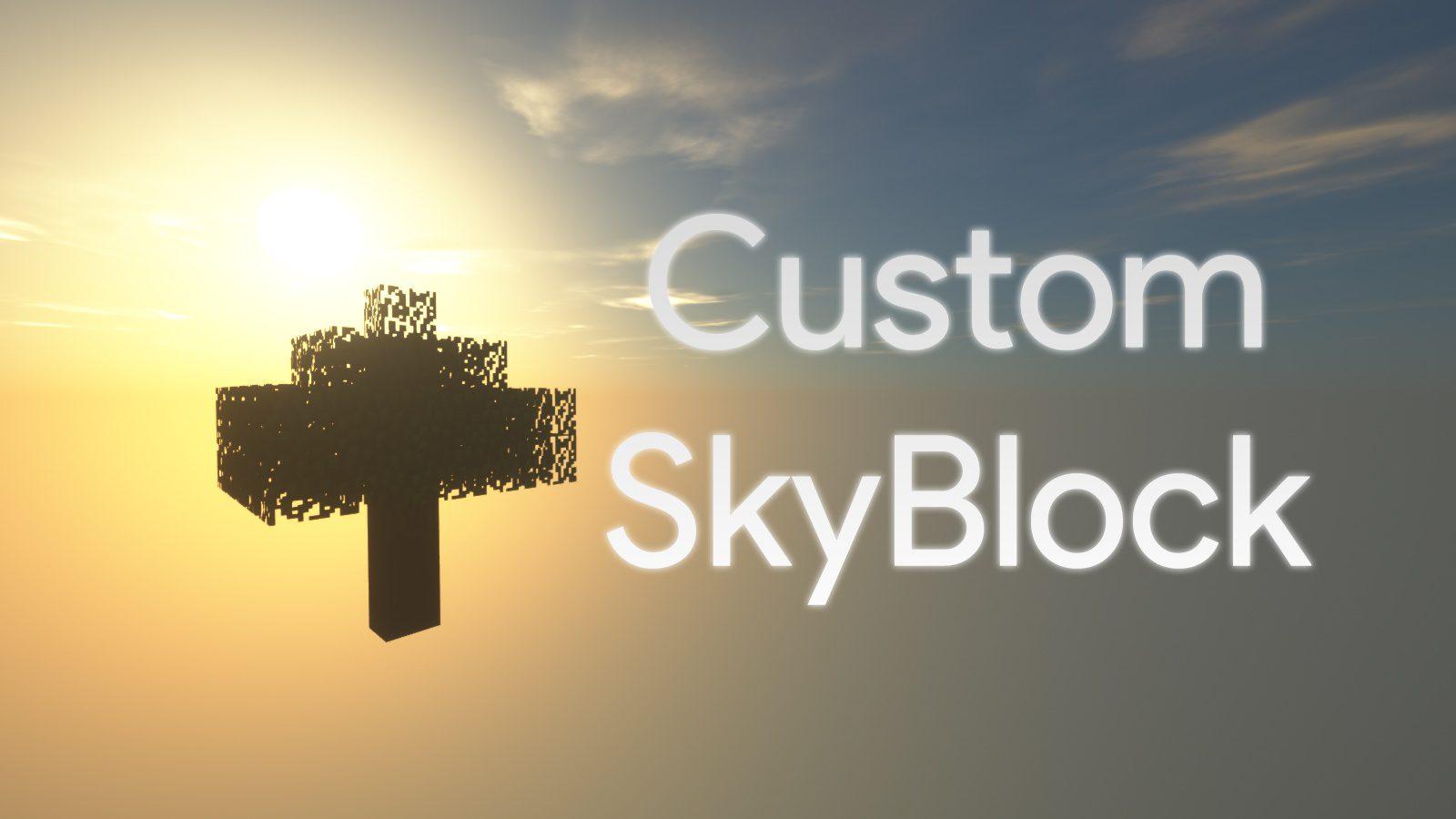 Custom SkyBlock Map Thumbnail