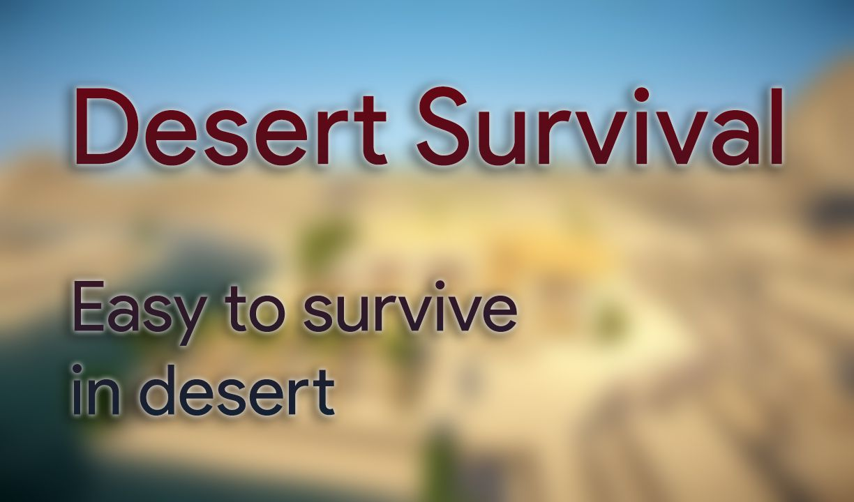Desert Survival Data Pack Thumbnail