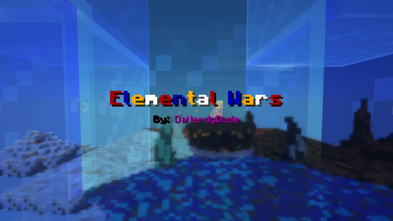 Elemental Wars Map 1 12 2/1 12 for Minecraft - 9Minecraft Net