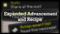 Expanded Advancement and Recipe Data Pack Thumbnail