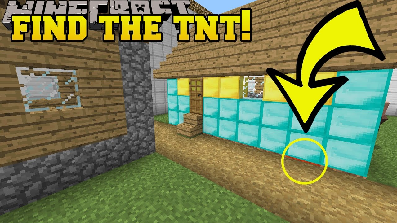Find The TNT Map 1.12.2/1.12 for Minecraft - 9Minecraft.Net