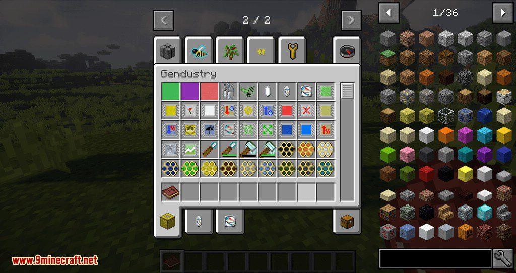 Gendustry JEI Addon mod for minecraft 01