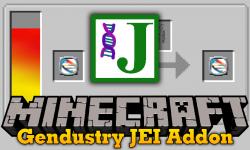 Gendustry JEI Addon mod for minecraft logo
