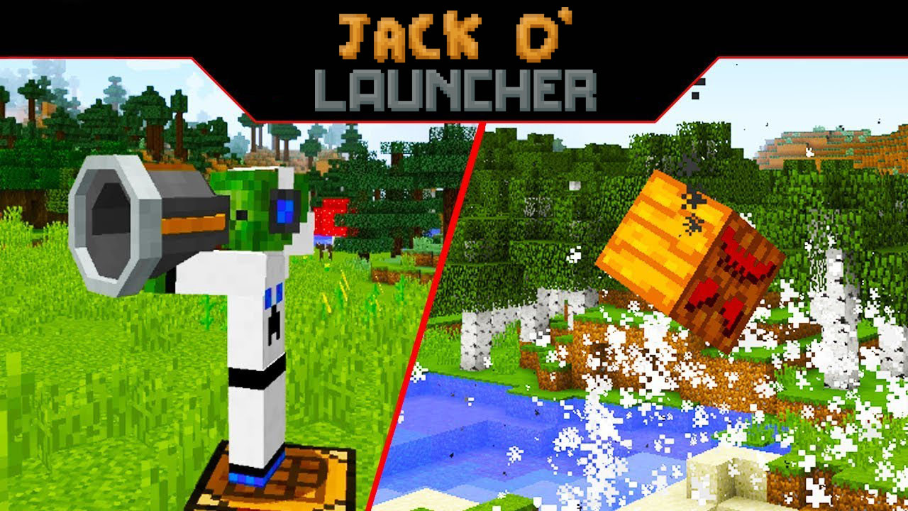 Jack O' Launcher Mod